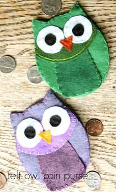 Adorable Felt Owl Co