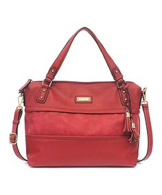 Look at this Ruby Vesey Satchel on #zulily today!