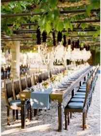 vineyard tables  Get married in Seattle! And order your #weddinginvitations here: www.digbyrose.com #digbyrose