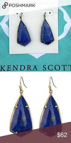 NWT Kendra Scott Carla Earrings Brand new Kendra Scott Carla earrings in blue lapis. Also available on Ⓜ️erc Kendra Scott Jewelry Earrings