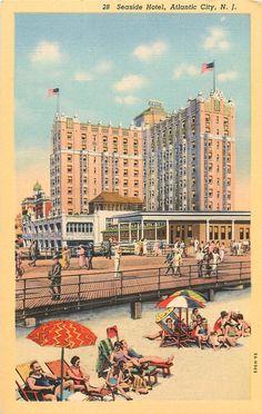The Flanders New Jersey Linen Postcard