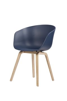 Hay  AAC22_20 BLUE versatile chair for dining, desk, office.   see scandinavia-design.fr