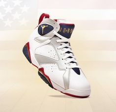 the latest 868e5 ea441 Air Jordan 7 Olympic Jordans Sneakers, Nike Air Jordans, Nike Air Max, Shoes