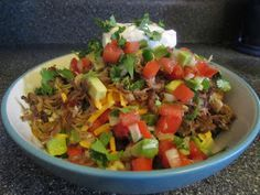 21 Day Fix Recipes: Burrito Bowls...sounds so good but instead of pork I would want turkey, chicken or beef roast