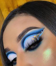 Rave Makeup, Glam Makeup, Eyeshadow Makeup, Makeup Inspo, Makeup Art, Makeup Inspiration, Beauty Makeup, Eyeshadows, Dramatic Eye Makeup
