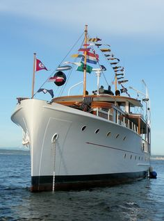 Here's the interesting history behind this beautiful 80 year-old classic motor yacht courtesy of the Classic Yacht Association. - Rick Etsell Photo
