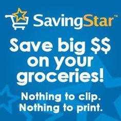 New Savingstar eCoupons week of 6/15