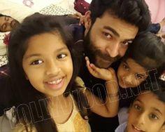 Varun Tej's fun with kids