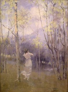 James Paterson - Spring in Moniaive