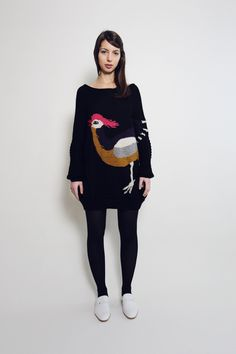 The Moon and Mars (LOVE sweater dresses)