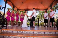 The romantic #RiuPalaceMexico near Playa del Carmen is an all inclusive resort with traditional Mexican decor and cuisine ~ perfect for an authentic cultural destination wedding! ~~ Join our free online #IDoMexico Wedding Planner for more details and get expert tips and advice from wedding specialists there like #EnviEventPlanning to create your own dream beach wedding, #TrashTheDress and honeymoon! ~~ I Do Mexico / Riviera Maya Wedding Resorts & Hotels