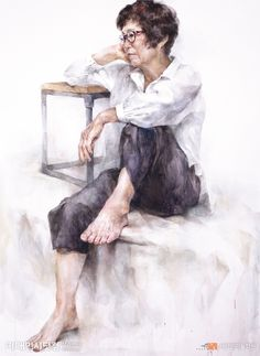 Drawing Heads, Sitting Poses, Figure Poses, Figure Drawing, Paint Colors, Anatomy, Watercolor Paintings, Sketches, Fine Art