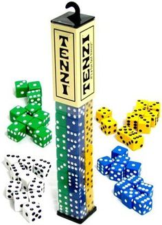 Fun, Fast, Frenzy!!! The world's fastest game! For ages 7-97! This is a super fun game that is great for all ages! Simply roll the dice and the first one to get all matching dice wins!! Comes with ten