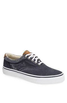 Free shipping and returns on Sperry 'Striper CVO' Sneaker (Men) at Nordstrom.com. Timeless style emanates from a stripped-down sneaker steeped in seaside influences and formed from salt-washed canvas.