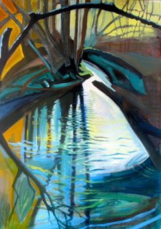 The Ansty Stream by Sue Fawthrop