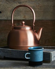Japanese Copper Kettle from Nalata in NYC