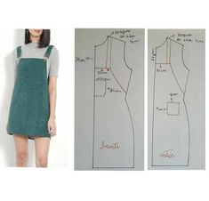 Sewing Clothes Women, Diy Clothing, Barbie Clothes, Dress Sewing Patterns, Clothing Patterns, Skirt Patterns, Blouse Patterns, Coat Patterns, Fashion Sewing