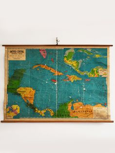 mapa centroamerica caribe