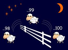 You can always try to count sheep :D But with using our recommended products you'll probably sleep better.