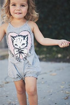 Little Wings - Cats Meow Shirred Onesie Spring 2013