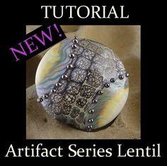 Artifact Series Lampwork Bead Tutorial PDF File by BirdsInPants
