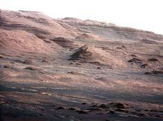 Mars par Curiosity
