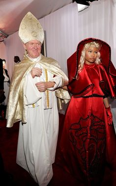 Nicki Minaj  Grammy Awards Red Carpet