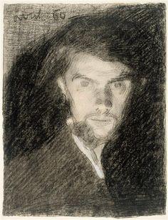 Henri Fantin-Latour (1836-1904) - Self Portrait