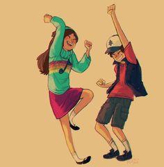 Dipper & Mabel | Gravity Falls