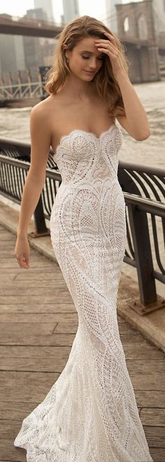 Featured Wedding Dress: Berta; Wedding dress idea.