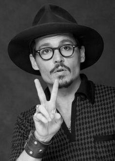 Johnny Depp, always stylin'