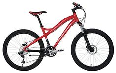 Ferrari Alloy MTB Series 24speed LowStep Mountain Bike RedBlack -- You can get additional details at the image link.