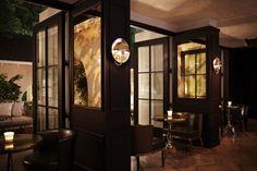 33 Super Ideas For Bar Lounge Seating Style Dining Room Bench Seating, Bedroom Seating, Lounge Seating, Restaurant Seating, Luxury Restaurant, Restaurant Bar, Restaurant Interiors, Bistro Design, Design Hotel