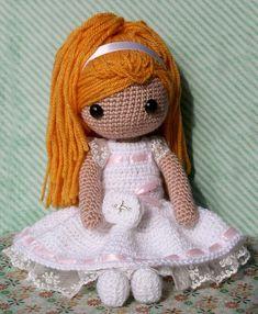 Mi muñeca de comunión de Rosebud por DaWanda.com ♡