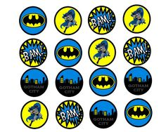 FREE Batman birthday party printables. Holy printables Batman! These are fantastic!
