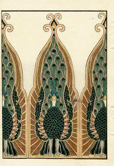 Tanaka Woodblock Design Prints 1892
