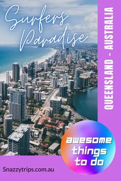 Surfers Paradise, Queensland, Australia – awesome things to do Queensland Australia, Australia Travel, Whitewater World, Hotels Gold Coast, Beach Look, Beach Holiday, Surfers, Holiday Destinations, Awesome Things