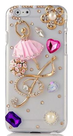 Bling iPhone case by natalia Girly Phone Cases, Cell Phone Covers, Ipod Cases, Diy Phone Case, Coque Iphone, Iphone 7, Mobiles, Capas Iphone 6, Aesthetic Phone Case