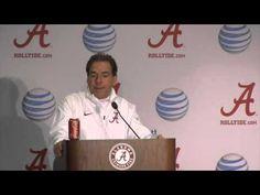 Nick Saban Postgame Press Conference After Win Over No. 1 Mississippi State [VIDEO]