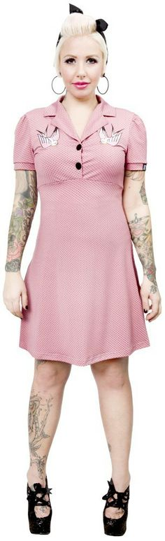 SOURPUSS SPARROW ROSIE DRESS