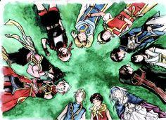 Distant Journey by SierraLatkje on DeviantArt Suikoden, Best Rpg, Final Fantasy, Journey, Fan Art, Saga, Deviantart, Video Games, Anime