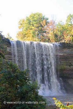 This was the hard-earned view of Balls Falls from within the gorge, Niagara Region / Jordan, Ontario, Canada