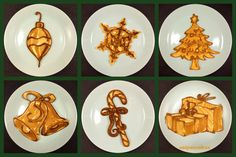 Awesome Christmas Pancakes Art by Nathan Shields | Inna Magazine
