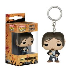 The Walking Dead Funko POP Daryl Dixon Pocket Keychain The Walker Store    http://thewalkerstore.com/the-walking-dead-funko-pop-daryl-dixon-pocket-keychain/