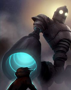 Iron Giant for @sketch_dailies ★ Find more at http://www.pinterest.com/competing/