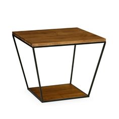 Blair Square Side Table in Almond