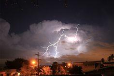 Lightning in Hawaii!