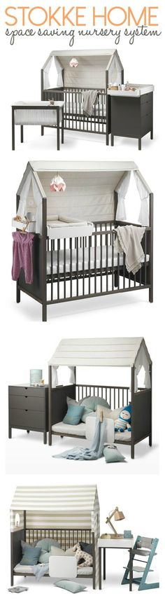 Stokke Home: Little Nursery with Big Possibilities. >>> Look into more by clicking the photo