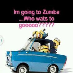Zumba minions in car