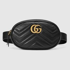1e9be34aae7 GG Marmont matelassé leather belt bag